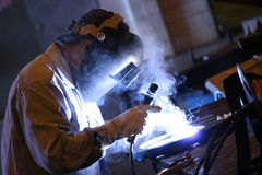 Welder. At work