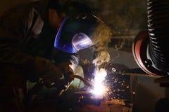 заварка welder Стоковые Изображения RF