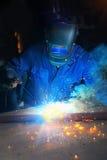 welder Стоковое Изображение RF