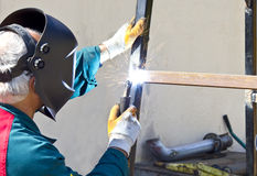 Welder Royalty Free Stock Photo