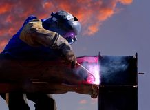 The Welder Stock Images