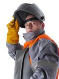 Welder Royalty Free Stock Image