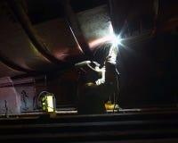 Welder. Worker welding stock images
