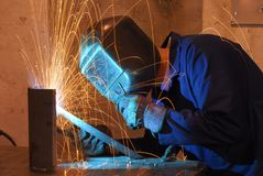 Welder Royalty Free Stock Photography