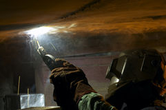 Welder Stock Image