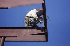 Free Welder At Work Stock Image - 4082921