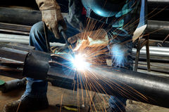Free Welder At Work Royalty Free Stock Photography - 45309917