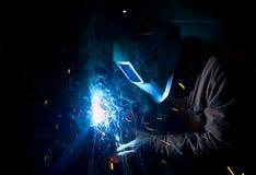 Free Welder At Work Stock Image - 8036761