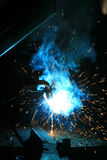Welder background Royalty Free Stock Images
