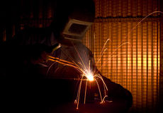 Welder background Royalty Free Stock Photos