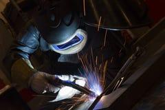 Free Welder, Craftsman, Erecting Technical Steel Industrial Steel Royalty Free Stock Photo - 166214125
