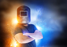 The Welder Royalty Free Stock Photography