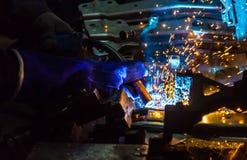 Welder Industrial Stock Photography