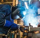Welder Industrial Royalty Free Stock Image