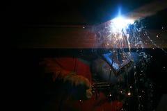 Welder. Industrial profession. Stock Photos