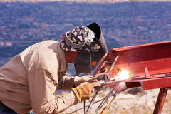 Welder-2 Royalty Free Stock Photography