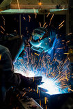 Welder skill up Royalty Free Stock Photography
