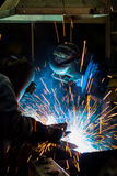 Welder skill up Stock Photography