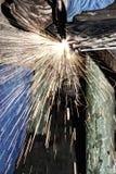 Welder at work. (industrial photo stock image