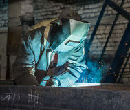 Welder. Royalty Free Stock Photo