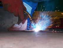 Welder. At work Royalty Free Stock Images