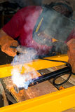 Welder at work -2 Royalty Free Stock Image