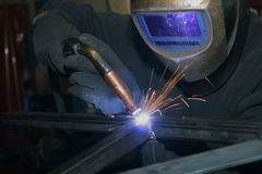 Welder at work5 Stock Photography