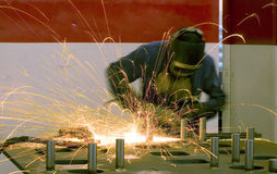 Welder worker Royalty Free Stock Photo