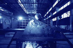 Welder worker profession Royalty Free Stock Photos
