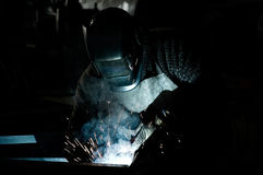 Welder working Royalty Free Stock Photography