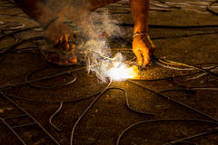 Welder working Royalty Free Stock Photo