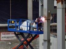 A welder Stock Photo