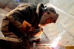 Welder Working Stock Photos