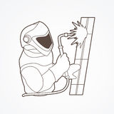 Welder working vector. Royalty Free Stock Image