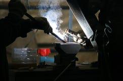 welders фабрики Стоковые Изображения RF