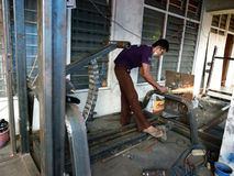 welders Стоковые Фотографии RF