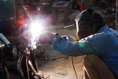 3 welders Стоковое Изображение RF