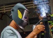 3 welders Стоковые Изображения RF
