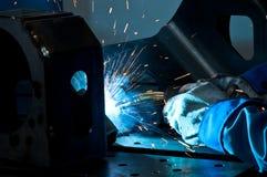 3 welders Стоковые Изображения