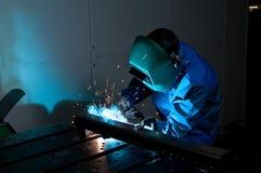 3 welders Стоковая Фотография RF