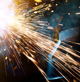 Welders in action Royalty Free Stock Images