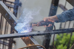 Welders Royalty Free Stock Photos