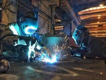 Welders stock images