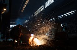 Welders Royalty Free Stock Image
