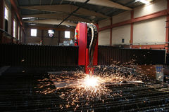 Welding. The color of metal, business and labor, shipbuilding Stock Photography