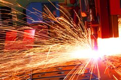 Welding Royalty Free Stock Photo