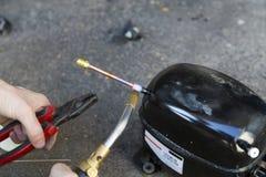 welding Imagem de Stock Royalty Free