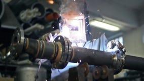 welding vídeos de arquivo
