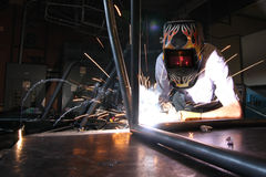 Welding Car Frame Stock Photos