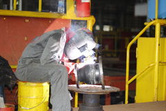 Welding crafts Royalty Free Stock Photo